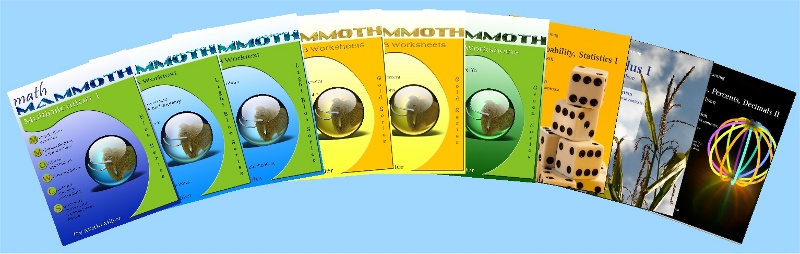 Math Mammoth books