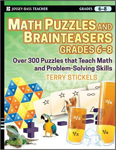 Math Puzzles and Brainteasers cover
