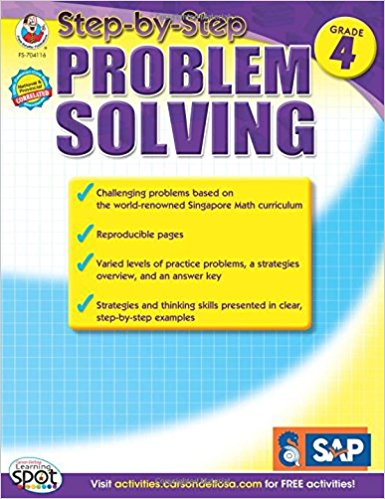 Step-by-Step Problem Solving, Grade 4 cover
