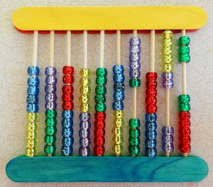 home made abacus