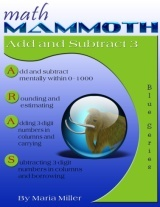 Math Mammoth Add & Subtract 3 math book cover