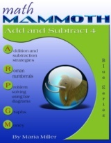 Math Mammoth Add & Subtract 4 book cover