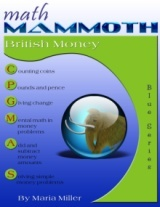 Math Mammoth British Money workbook cover
