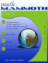 Math Mammoth Clock workbook cover