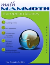 Math Mammoth European Money workbook cover