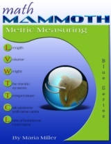 Math Mammoth Metric  Measuring workbook cover