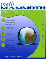 Math Mammoth Place Value 3 math book cover