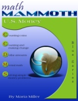 Math Mammoth Money workbook cover