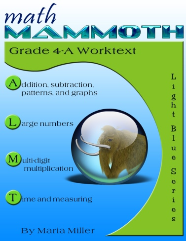 Math mammoth grade 4 complete curriculum description samples and cover for math mammoth grade 4 a complete worktext fandeluxe Image collections