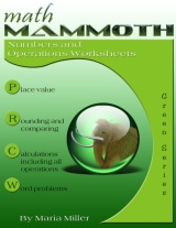 Math Mammoth Numbers & Operations  Worksheets Collection book cover