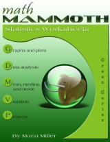 Math Mammoth Statistics Worksheets Collection book cover