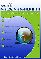 Math Mammoth New Zealand Money workbook cover