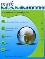 cover for Math Mammoth Grade 6-A Complete Worktext