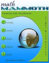 cover for Math Mammoth Grade 6-B Complete Worktext