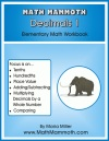 Math Mammoth Decimals 1 book cover