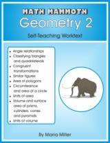 Math Mammoth Geometry 2 cover