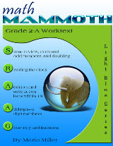cover for Math Mammoth Grade 2-A Complete Worktext