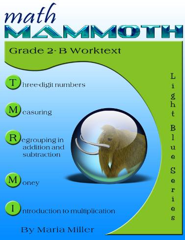 Math Mammoth Grade 2 Complete curriculum - description