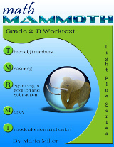 cover for Math Mammoth Grade 2-B Complete Worktext