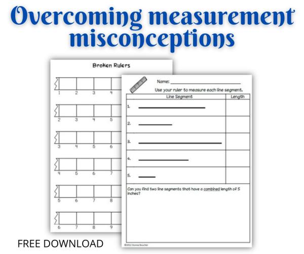 broken ruler worksheets