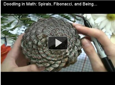 Doodling in Math: Spirals, Fibonacci, and Being a Plant