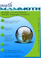 cover for Math Mammoth Grade 1-A Complete Worktext, South African version