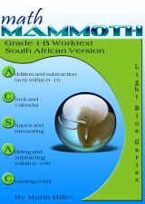 cover for Math Mammoth Grade 1-B Complete Worktext, South African version