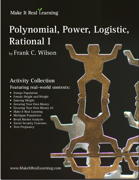 Polynomial, Power, Logistic, Rational Functions I workbook